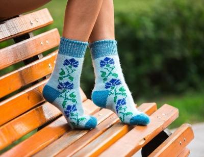 Шерстяные носки женские
