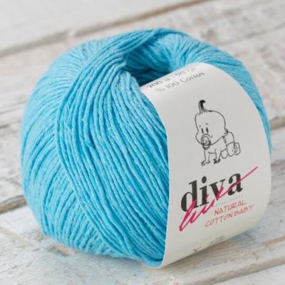 1. Турецкая пряжа Diva cotton baby