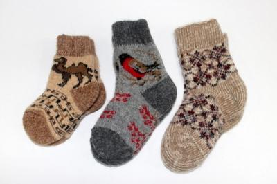 Шерстяные носки (мужские, женские, детские)