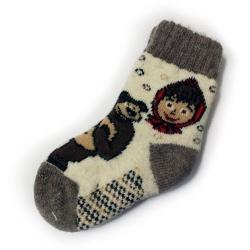 Носки шерстяные детские