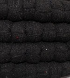 Шерстяная пряжа черная