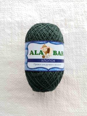 """Пряжа хлопок """"Alabar"""" зеленный"""
