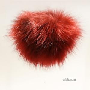 21. Искусственные помпоны (красный)