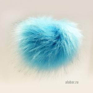 14. Искусственные помпоны (голубой)
